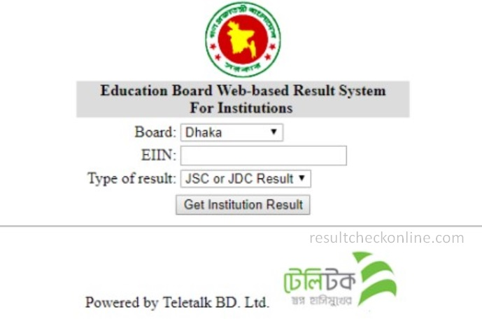 SSC Result 2019 by EIIN Number2