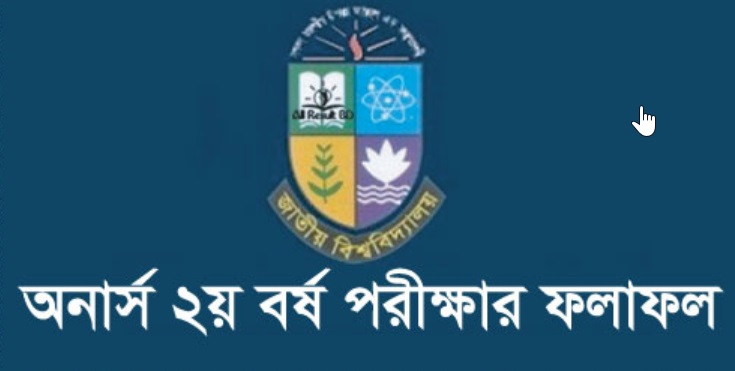 NU Honours 2nd Year Exam Result 2019