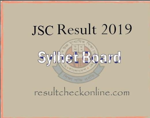 jsc result 2019, jsc result 2019 sylhet board