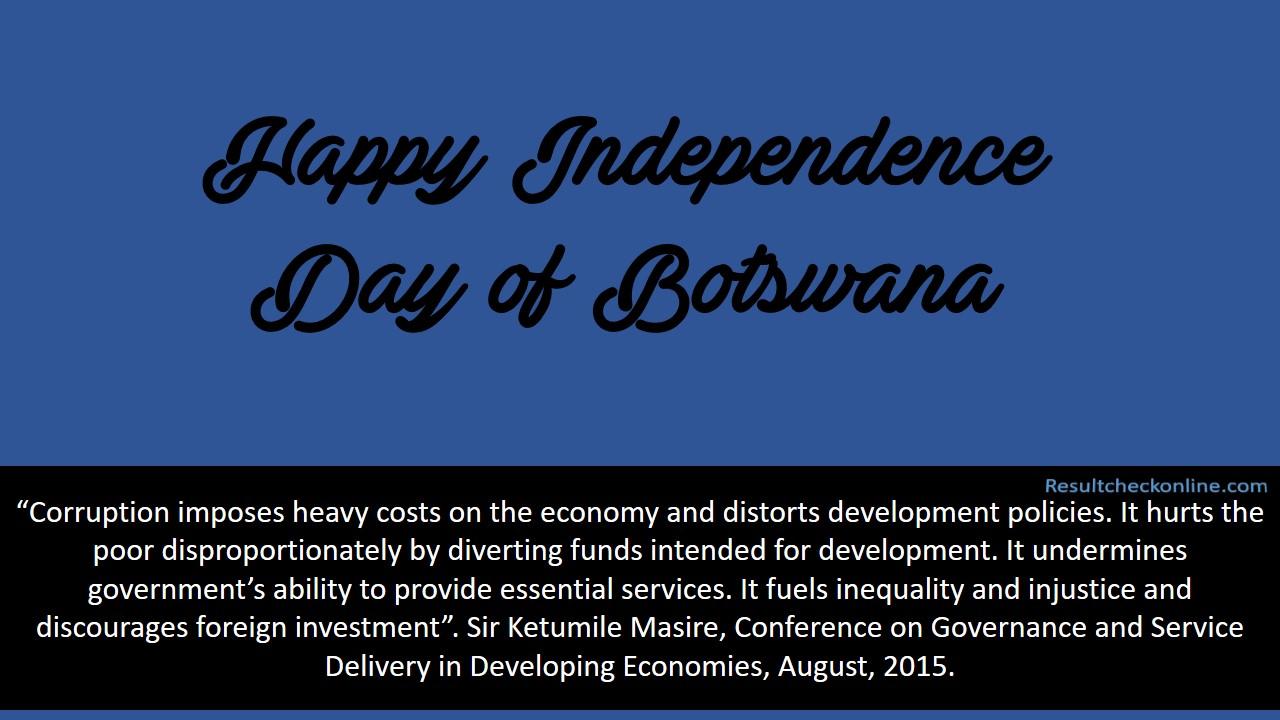 Independence Day of Botswana Image