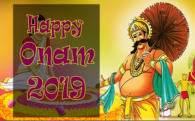 Happy Onam 2019 Picture, Image, quotes, massage, wishes , facebook/whatsapp status and greetings cards.