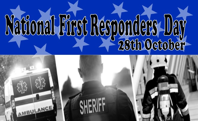 National First Responders Day 2019 wishes, quotes, message, SMS, Image, Picture, Poem: