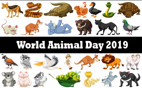 World Animal Day 2019 Quotes, Facts, Gifts, Activities, Articles, Theme