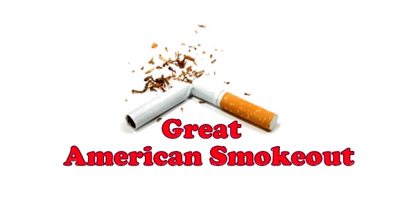 Geat American Smokeout history, slogans, wishes, quotes, poem, Image, Picture, message, SMS