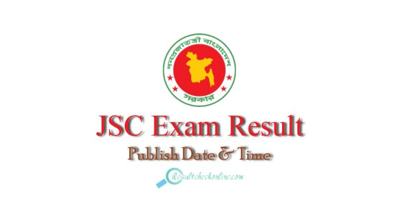 JSC Exam Result Publish Date and time