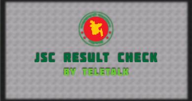 JSC Result 2021 by Teletalk[Very Fast]