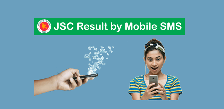 JSC Exam Result 2019 Check by Mobile SMS