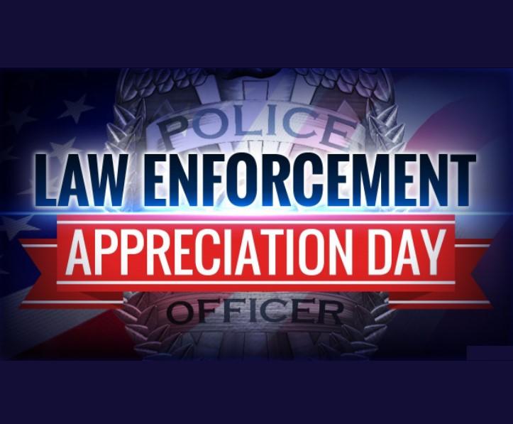 National Law Enforcement Appreciation Day, National Law Enforcement Appreciation Day 2022