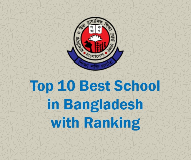 Top 10 Best Schools List in Bangladesh with ranking