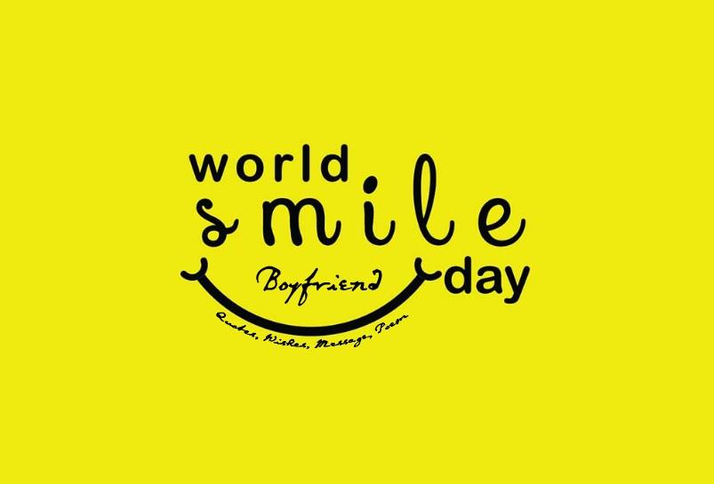 World smile day for Boyfriend