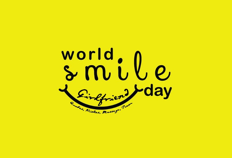 World smile day for girlfriend