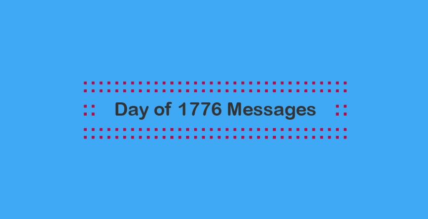 Day of 1776 Messages