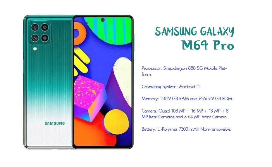 Samsung Galaxy M64 Pro, Samsung Galaxy M64 Pro 2021